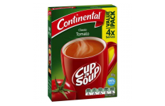 Cup A Soup Classic Tomato- Continental- 80g/ 4 Pack