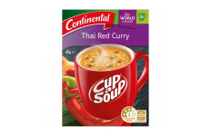 Cup A Soup Thai Red Curry - Continental- 60g/ 2 Serves