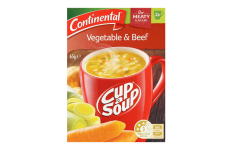 Cup A Soup Vegetable & Beef