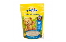 Baby Rice Cereal (4 mths + by Farex, 125g