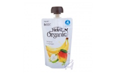 Organic Banana & Mango Infant food 4 Mths+ by Heinz, 120g