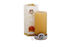 Beeswax Pillar Candle- Kirra- 440g