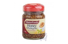 Honey Wholegrain Mustard by MasterFoods 175g