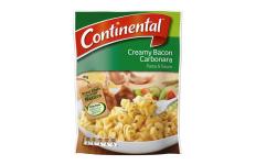 Pasta & Sauce Creamy Bacon Carbonara- Continental- 85g