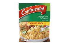 Pasta & Sauce Creamy Bacon Carbonara- Continental- 145g
