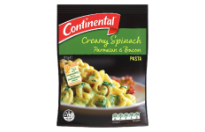 Pasta & Sauce Creamy Spinach Parmesan & Bacon- Continental-- 91g